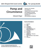 Cover icon of Pomp and Circumstance (COMPLETE) sheet music for concert band by Edward Elgar and John Kinyon