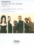 Cover icon of Music of My Heart (from ) sheet music for piano, voice or other instruments by Gloria Estefan and 'N Sync, easy/intermediate