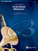 Cover icon of In the Bleak Midwinter sheet music for concert band (full score) by Gustav Holst