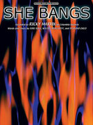 Cover icon of She Bangs sheet music for piano, voice or other instruments by Ricky Martin