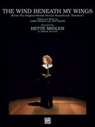 Cover icon of The Wind Beneath My Wings (from Beaches) sheet music for piano, voice or other instruments by Bette Midler