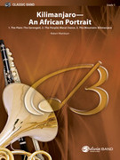 Cover icon of Kilimanjaro: An African Portrait (COMPLETE) sheet music for concert band by Robert Washburn