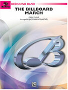 Cover icon of The Billboard March sheet music for concert band (full score) by John Klohr, beginner