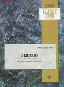 Cover icon of Jericho sheet music for concert band (full score) by Morton Gould