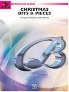 Cover icon of Christmas Bits and Pieces sheet music for concert band (full score) by Anonymous