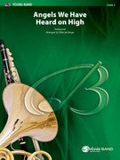 Cover icon of Angels We Have Heard on High (COMPLETE) sheet music for concert band by Anonymous and Elliot Del Borgo