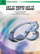 Cover icon of Let It Snow! Let It Snow! Let It Snow! sheet music for concert band (full score) by Anonymous, easy
