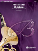Cover icon of Fantasia for Christmas (COMPLETE) sheet music for concert band by Anonymous and Elliot Del Borgo