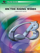 Cover icon of On the Rising Winds sheet music for concert band (full score) by Robert W. Smith, easy