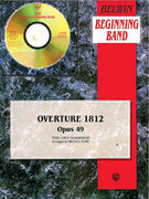 Cover icon of Overture 1812 sheet music for concert band (full score) by Anonymous, classical score, beginner skill level
