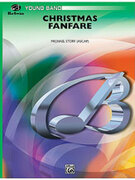 Cover icon of Christmas Fanfare sheet music for concert band (full score) by Anonymous and Michael Story, easy