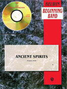 Cover icon of Ancient Spirits sheet music for concert band (full score) by Michael Story