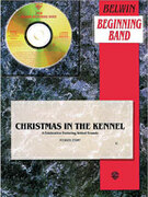 Cover icon of Christmas in the Kennel sheet music for concert band (full score) by Michael Story, beginner concert band (full score)