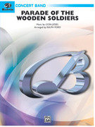 Cover icon of Parade of the Wooden Soldiers sheet music for concert band (full score) by Anonymous and Ralph Ford