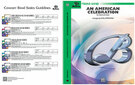 Cover icon of An American Celebration (COMPLETE) sheet music for concert band by Anonymous and Carl Strommen and Carl Strommen