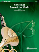 Cover icon of Christmas Around the World (COMPLETE) sheet music for concert band by Anonymous and Michael Story