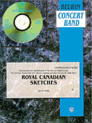 Cover icon of Royal Canadian Sketches sheet music for concert band (full score) by Ralph Ford, easy/intermediate