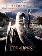 Cover icon of Gollum's Song (from The Lord of the Rings: The Two Towers) sheet music for piano, voice or other instruments by Howard Shore