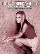 Cover icon of Don't Need You To (Tell Me I'm Pretty) sheet music for piano, voice or other instruments by Samantha Mumba