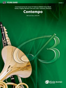 Cover icon of Contempo sheet music for concert band (full score) by Michael Story