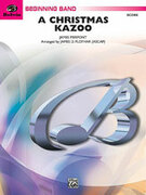 Cover icon of A Christmas Kazoo (COMPLETE) sheet music for concert band by James Pierpont and James D. Ployhar
