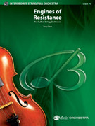 Cover icon of Engines of Resistance sheet music for full orchestra (full score) by Larry Clark