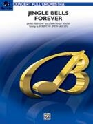 Cover icon of Jingle Bells Forever (COMPLETE) sheet music for full orchestra by Anonymous and Robert W. Smith, intermediate