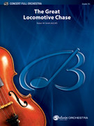 Cover icon of The Great Locomotive Chase sheet music for full orchestra (full score) by Robert W. Smith