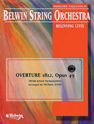 Cover icon of Overture 1812, Opus 49 sheet music for string orchestra (full score) by Anonymous, classical score, beginner