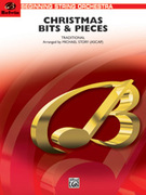 Cover icon of Christmas Bits and Pieces sheet music for string orchestra (full score) by Anonymous, beginner orchestra