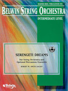 Cover icon of Serengeti Dreams sheet music for string orchestra (full score) by Robert W. Smith