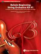 Cover icon of Belwin Beginning String Orchestra Kit #1 sheet music for string orchestra (full score) by Jeremiah Clarke, Jeremiah Clarke, Henry Purcell, Christoph Graupner and Bob Cerulli, classical score, beginner skill level