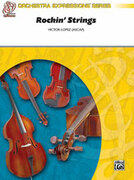 Cover icon of Rockin' Strings sheet music for string orchestra (full score) by Victor Lopez, beginner skill level