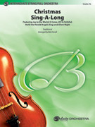 Cover icon of Christmas Sing-a-Long (COMPLETE) sheet music for full orchestra by Anonymous and Bob Cerulli
