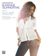Cover icon of Sunshine and Summertime sheet music for piano, voice or other instruments by Faith Hill, easy/intermediate