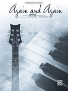 Cover icon of Again and Again sheet music for piano, voice or other instruments by Jewel