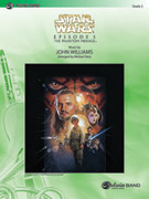 Cover icon of Star Wars sheet music for concert band (full score) by John Williams, classical score, easy skill level