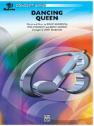 Cover icon of Dancing Queen sheet music for concert band (full score) by Anonymous and Jerry Brubaker