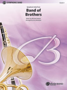 Cover icon of Band of Brothers, Symphonic Suite from (COMPLETE) sheet music for concert band by Michael Kamen and Jerry Brubaker