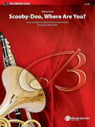 Cover icon of Scooby-Doo, Where Are You?, Theme from (COMPLETE) sheet music for concert band by David Mook, Ben Raleigh and Paul Cook