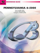 Cover icon of Pennsylvania 6-5000 (COMPLETE) sheet music for concert band by Jerry Gray and Carl Sigman, beginner