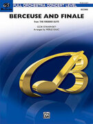 Cover icon of Berceuse and Finale (COMPLETE) sheet music for full orchestra by Igor Stravinsky