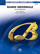 Cover icon of Danse Infernale (COMPLETE) sheet music for full orchestra by Igor Stravinsky and Merle Isaac