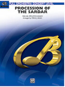 Cover icon of Procession of the Sardar (COMPLETE) sheet music for full orchestra by Nicolai Ippolitov-Ivanov and Merle Isaac, classical score, intermediate orchestra