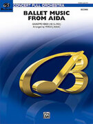 Cover icon of Ballet Music from Aida sheet music for full orchestra (full score) by Giuseppe Verdi and Merle Isaac