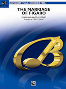 Cover icon of The Marriage of Figaro -- Overture sheet music for full orchestra (full score) by Wolfgang Amadeus Mozart, classical score, intermediate skill level