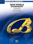 Cover icon of New World Symphony (COMPLETE) sheet music for full orchestra by Antonin Dvorak and Antonin Dvorak, classical score, intermediate