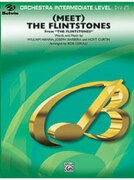 Cover icon of (Meet) The Flintstones (COMPLETE) sheet music for full orchestra by Anonymous and Bob Cerulli