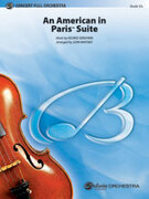 Cover icon of An American in Paris Suite sheet music for full orchestra (full score) by George Gershwin, classical score, intermediate