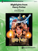Cover icon of Harry Potter, Highlights from sheet music for full orchestra (full score) by John Williams and Michael Story